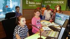 Sboristé v Rádiu Junior 13. 10.